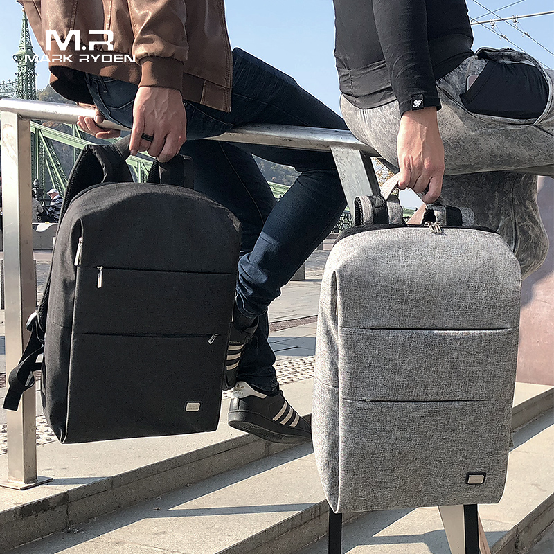 Mark Ryden New Men Backpack For 15.6 inches Laptop Backpack Large Capacity Stundet Backpack Casual Style Bag Water Repellent men backpack backpack stylestyle backpack - AliExpress