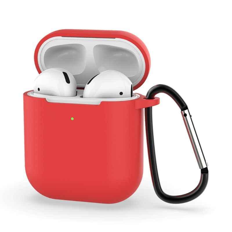 ミニかわいいケース Airpods 2nd 世代保護イヤホン Apple airpods2 とカラビナ