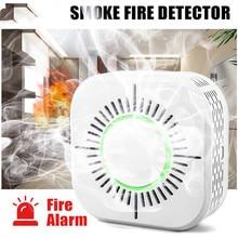 Smoke Detector Sensor Wireless 433MHz Fire Security Protection Alarm Sensor Smart Home Work with Sonoff RF Bridge