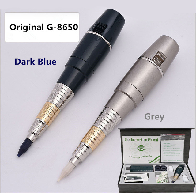G8650 الأصلي تايوان آلة تجميل دائم عدة العملاق الشمس 8650 ماكينة رسم الوشم التجميلي مجموعة مع بطارية ماكينة رسم الوشم التجميلي كاملة الوشم