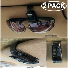 цены Auto Fastener Car Vehicle Sun Visor Sunglasses Eyeglasses Glasses Holder Card Ticket Pen Clip Automotive Accessories