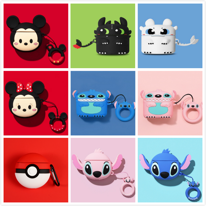 Cute 3D Silicone Case for AirPods Pro