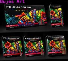 Prismacolor sanford arte oleosa lápis de cor 24 36 48 72 132 150 cores lapis de cor lápis de cor de madeira artista material escolar