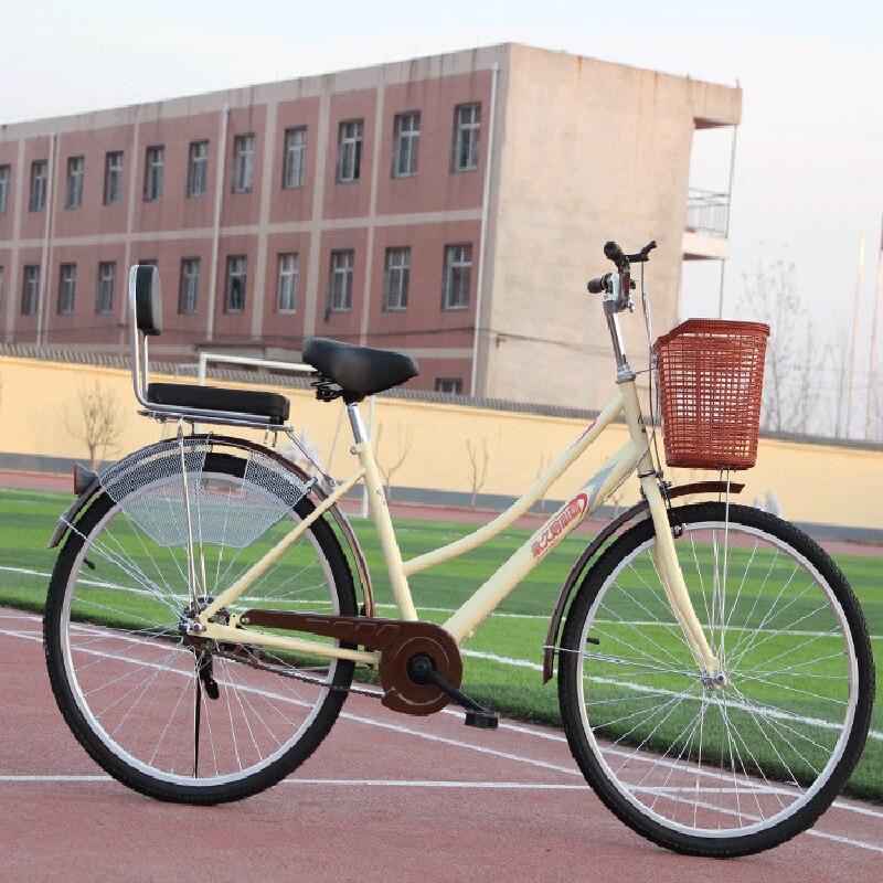 24 polegadas estudante bicicleta leve bicicleta anti-skid