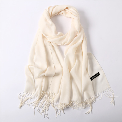 Women Cashmere Scarf Thin...