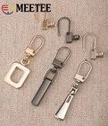 Meetee 6pcs Metal Zi...