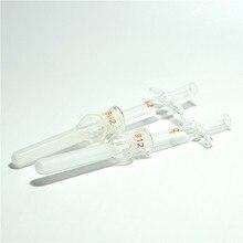زجاج الخالط خلية التحلل الأنسجة طحن أنبوب 0.5 مللي الخالط الخالط للخلايا عزل الزجاج طحن مدقة 5 / PK