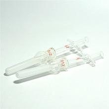 Vetro Omogeneizzatore Lisi Delle Cellule Del Tessuto Rettifica Tubo 0.5 ml Dounce Omogeneizzatore Per Le Cellule di Isolamento di Vetro Grind Pestello 5 / PK