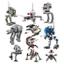 Novíssimo clone imperial selado at-at AT-DP walker mini conjunto compatível bloco de construção brinquedo do miúdo