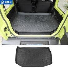 MOPAI-revestimiento de carga para Suzuki Jimny 2019 +, esterilla trasera del maletero, almohadillas, accesorios para Suzuki Jimny 2019 2020