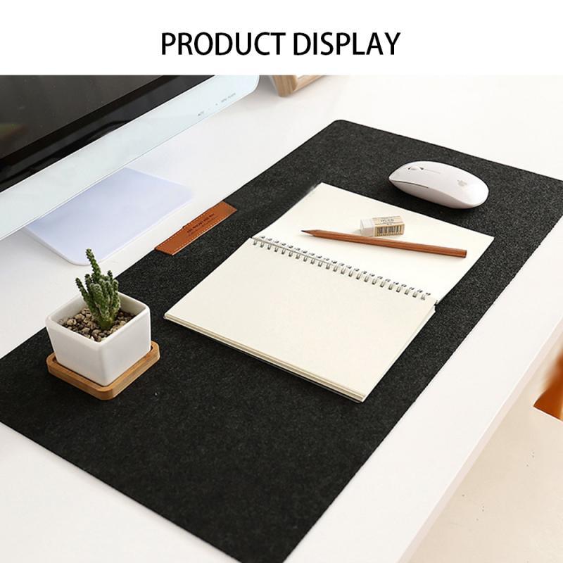 300*600*2mm Large Office Desk Mat Table Keyboard Big Mouse Pad Wool Felt Laptop Cushion Desk Non-slip Mat Gamer Mousepad Mat