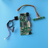 """Kit For LTN140AT21 C01 14"""" 1366X768 HDMI DVI Controller board VGA Screen LED LCD M.NT68676 40pin LVDS Panel monitor