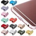 Модная противопылевая заглушка для зарядного устройства металлическая Заглушка Крышка для IPhone X XR Max 8 7 6S Plus умные аксессуары для фотографий