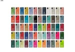 С логотипом официальный силиконовый чехол для iphone SE 7 8 6S 6 Plus 11 Pro X XS MAX XR чехол для телефона цвет от 1 до 23