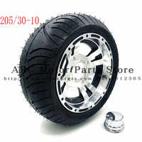 205/30-10 Go Kart Karting Motorcycle Wheel Rim With Tubeless Tire Tyre