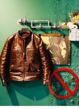 Yr! grátis shipping.2020 novo luxo 1.2mm tuscany batik gado jaqueta de couro, homem clássico vintage fino casaco de couro genuíno, legal