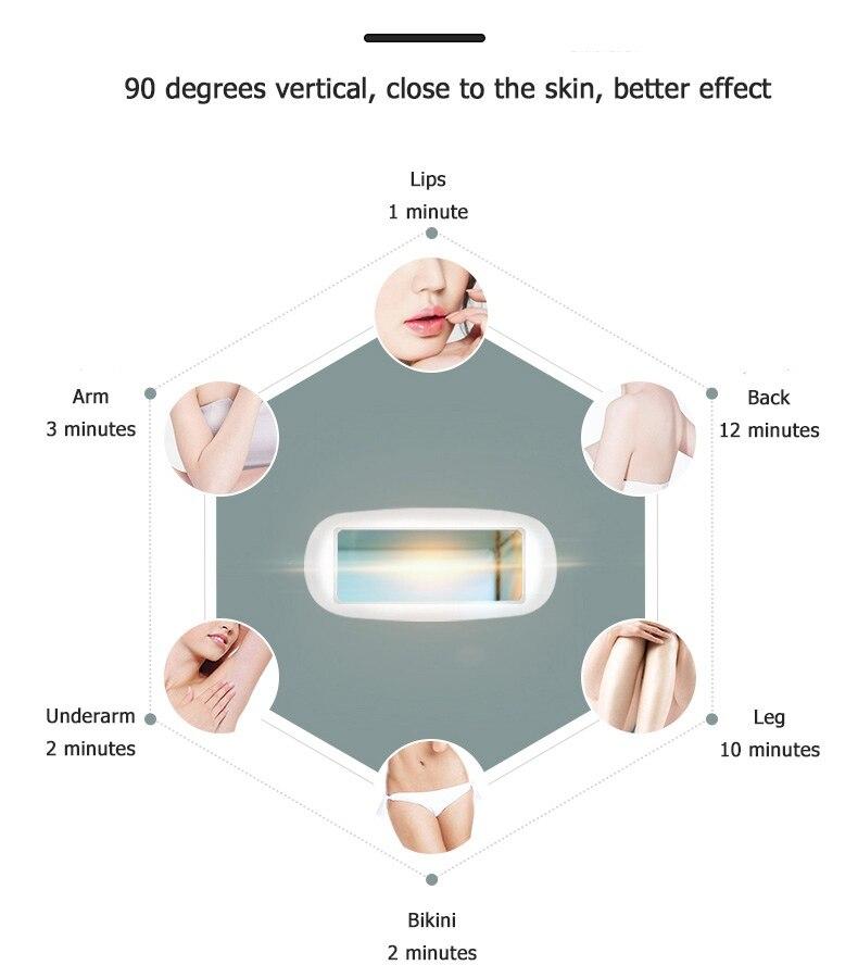 Máquina elétrica profissional da remoção do cabelo