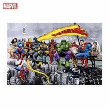 Marvel Poster Superhero Canvas Painting Spiderman Iron Man Captain America Home Decor Mural Prints Kids Bedroom Birthday Gifts