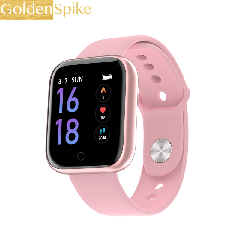 Waterproof smart watch colorful bracelet watch Activity tracker Fitness heart rate monitor BRIM Men women smartwatch(China)