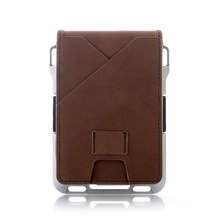 2020 Bifold Card Holder Tactical RFID Men Wallet Credit Card Holder Aluminum Bank ID Cardholder Anti-thief Card Case Money Bag
