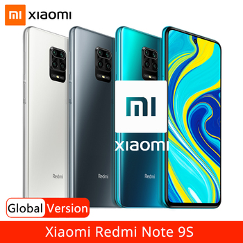 "Global Version Xiaomi Redmi Note 9S 6GB 128GB Smartphone Note 9 S Snapdragon 720G 48MP AI Quad Camera 6.67"" FHD Dispaly 5020mAh"