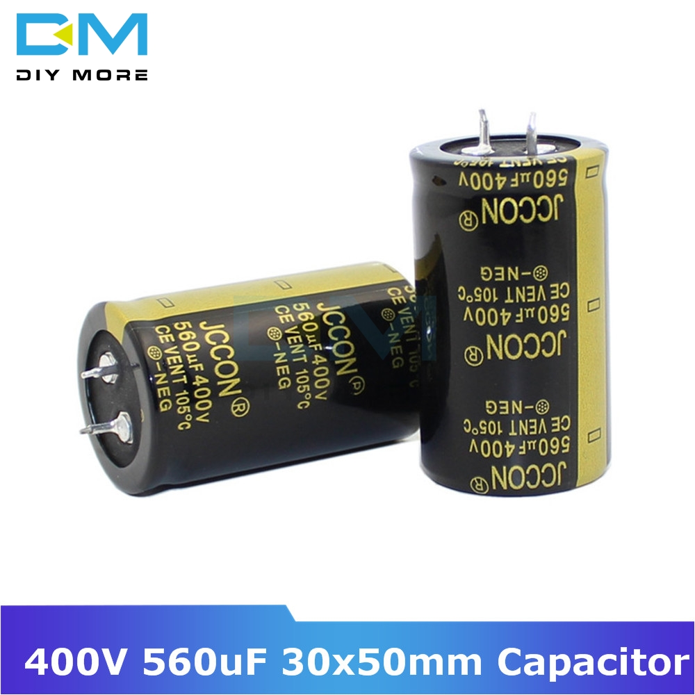 400V 560uF 30x50mm 30X50 Aluminum Electrolytic Capacitor High Frequency Low Impedance Through Hole Capacitor Size 30*50mm