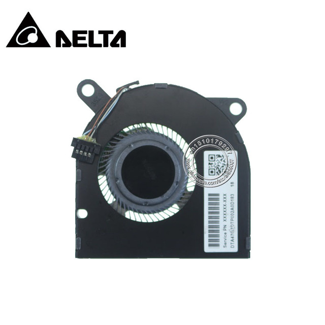 Laptop CPU Cooling Fan ND55C03 18C15 DC05V 0.50A 4PIN for HP 13 13 AN L41283 001 DTA47G7DTP002A0D183