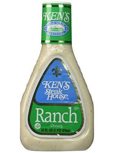 Ken's Steak House Ranch Salad Dressing 16 Oz