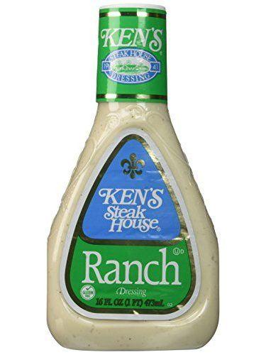 Ken's Steak House Ranch Salad Dressing 16 Oz