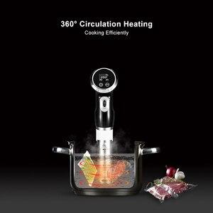 Image 4 - BioloMix Cyrkulator zanurzeniowy do gotowania Sous Vide, 1500 W, wyświetlacz LCD z timerem cyfrowym, stal nierdzewna
