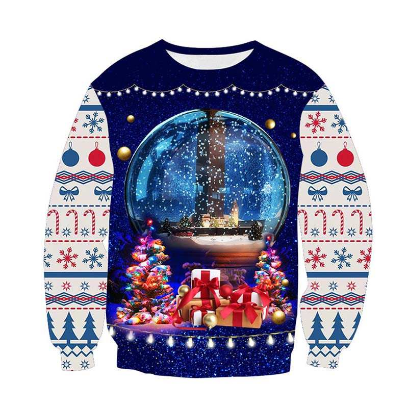 Ugly Christmas Sweater Funny Xmas Pullover Funny Hoodie Sweatshirt Vacation  Christmas Men And Women Harajuku 3d Sweater Cloths