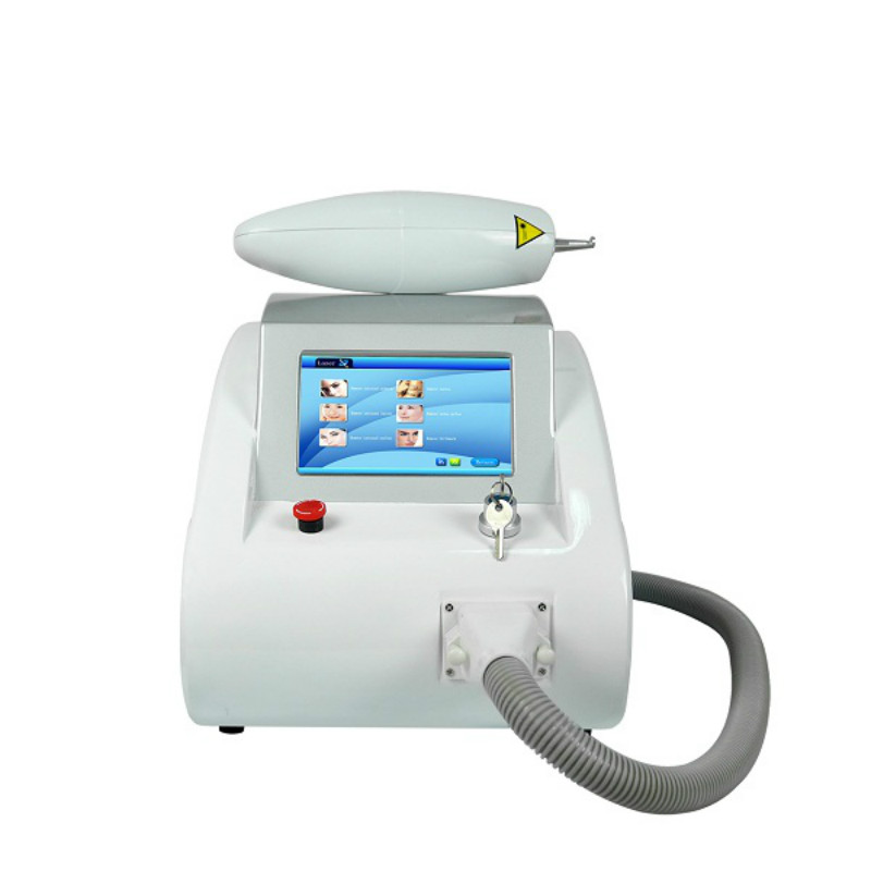 <font><b>1064</b></font> <font><b>nm</b></font> 532nm and 1320nm Pigment Tattoo Removal Machine Carbon Peeling Q Switch ND Yag Laser image