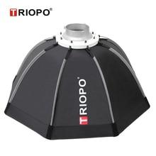 Портативный уличный зонт софтбокс Triopo 90 см с сумкой для переноски