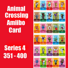 Series 4 (351 to 400) Animal Crossing Card Amiibo Card Work for Switch NS 3DS Games Card  Animal Crossing Amiibo Card New Leaf series 4 301 to 350 animal crossing card amiibo cards work for switch ns 3ds games card animal crossing amiibo card new leaf