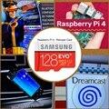 RetroPie sd-карта 128 ГБ для Raspberry Pi 4 14000 + игры 45 + эмуляторы предзагруженные Diy станция эмуляции ES NES FC PS NEOGEO DS psp
