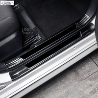 For Toyota Corolla 2019 2020 Hatchback Stainless Steel New Door Sill Scuff Plates Doors Sills Protectors Car Thresholds Sticker