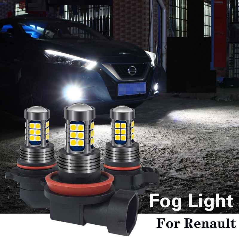 1pcs H8 H11 HB4 9006 H10 H16 Canbus <font><b>LED</b></font> Light Bulb <font><b>Lamp</b></font> For <font><b>Renault</b></font> <font><b>megane</b></font> <font><b>2</b></font> 3 duster logan laguna Koleos clio fluence twingo image