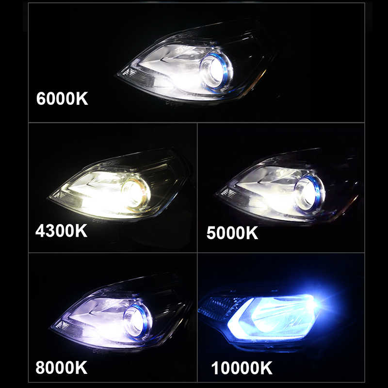 HLXG H7 LED H4 9005 HB3 9006 HB4 Car LED Headlight 6000K 8000K 10000K Mini h4 coche luces lamp 10000LM H11 H8 fog Bulb lampada