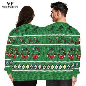 Image 3 - VIP אופנה חורף זוגות סווטשירט שני אדם יוניסקס בסוודרים שני אדם חולצות חידוש מכוער חג המולד חולצות זכר