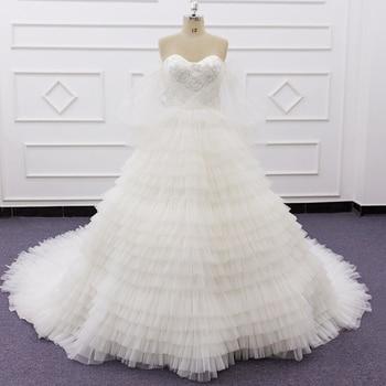 SJ275 custom made style sweetheart elegant vintage imperial Court Train Bridal Gown wedding dress