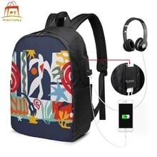 Matisse Backpack Matisse Backpacks Man - Woman Multi Function Bag Student Print Shopper High quality Bags