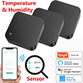 Tuya Smart IR Remote Control Built-in Temperature and Humidity Sensor for Air Conditioner TV DVD AC Works with Alexa,Google Home