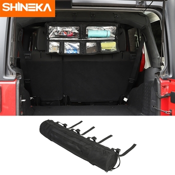 Stowing Tidying For Jeep Wrangler TJ YJ CJ JK JL Multifunction Roll Bar Storage Bag Pocket Tool Organizer Black For Jeep All Car