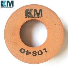 10S40/60/80-150x40x70/130x35x60 полировочное колесо, для стеклянной окантовочной машины