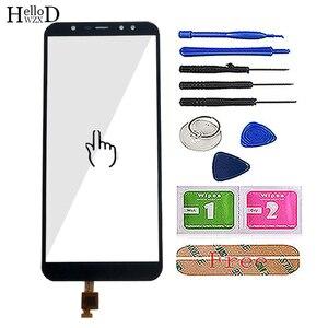 Image 2 - 5.99 mobile mobile tela de toque móvel para leagoo z15 toque digitador da tela do painel de vidro frontal touchscreen ferramentas 3 m cola toalhetes