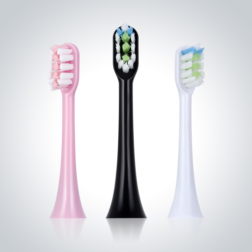 Sonic Electric Toothbrush Replacement Heads Independent hygienica With Brush Head Cap For SOOCAS X3 SOOCARE Electric Toothbrush image