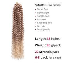 Crochet Braiding Synthetic Hair Extension