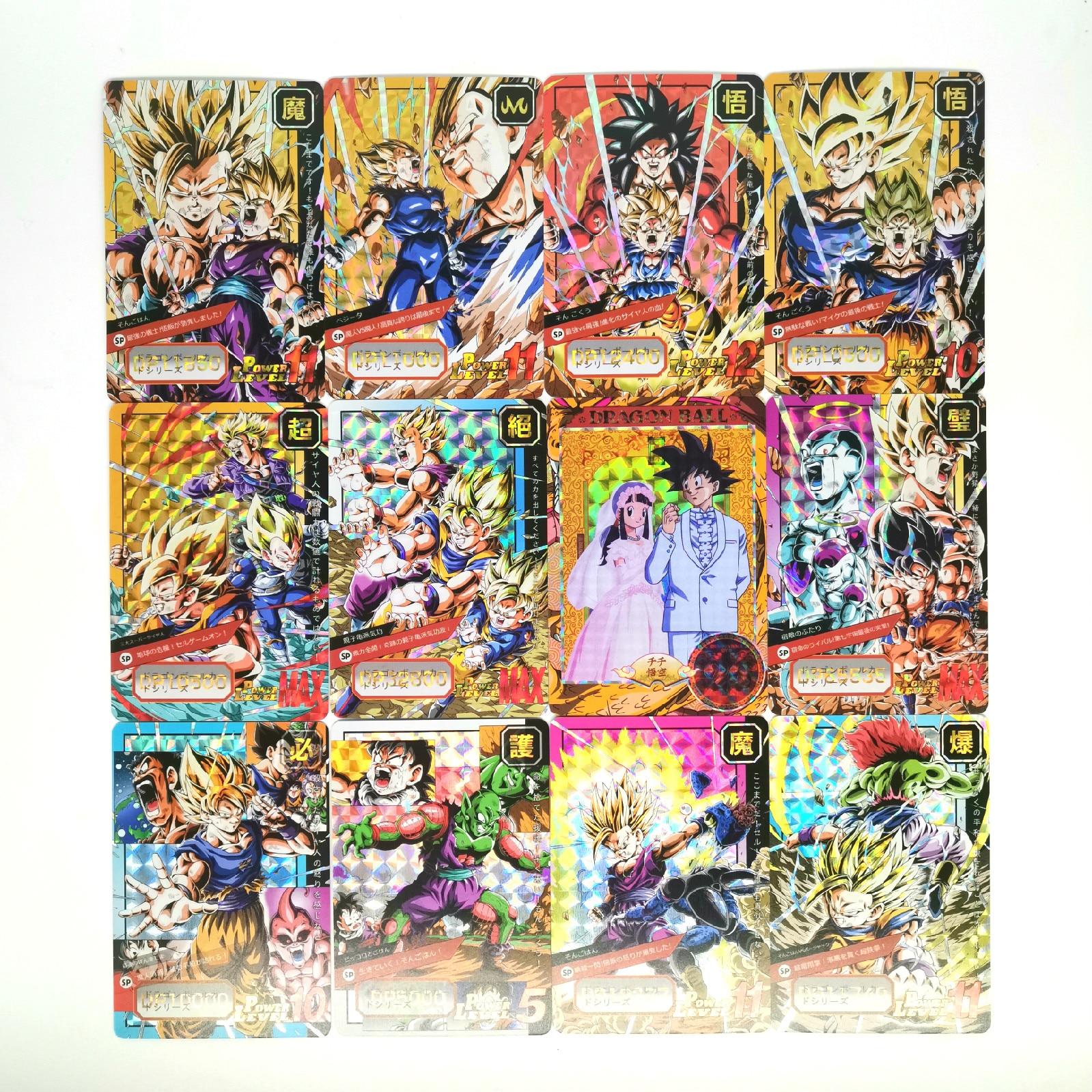 New 29pcs Super Dragon Ball Z Heroes Battle Card Ultra Instinct Goku Vegeta Game Collection Cards