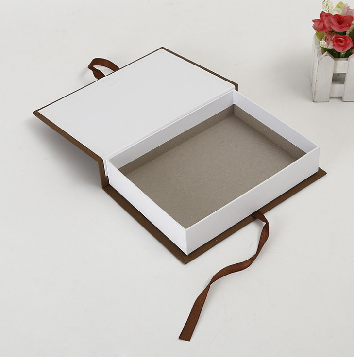 Book Shape Folding Packing White Magnetic Gift Box,customized Box Insert For Gift Packaging With Foam Or Velvet ---DH10288