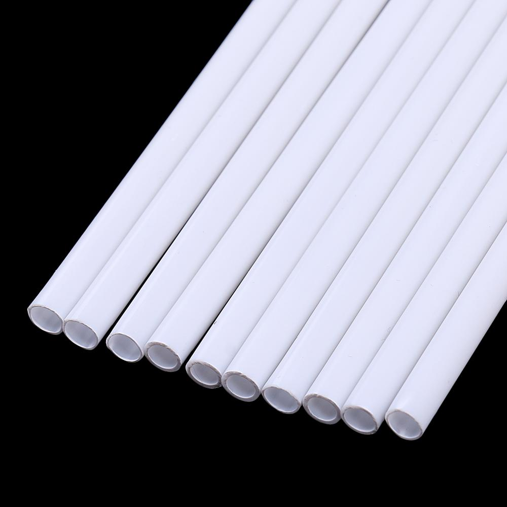 Dia 2mm-10mm Model Pipe Tube Round Making Scenery Constructions Building Landscape Layout Diorama ABS Plastic Arquitectura